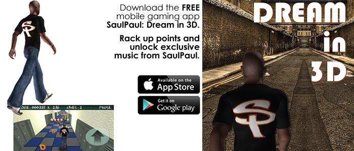 SaulPaul: Dream In 3D Mobile Gaming App