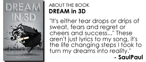 Dream in 3D Book Quote by SaulPaul