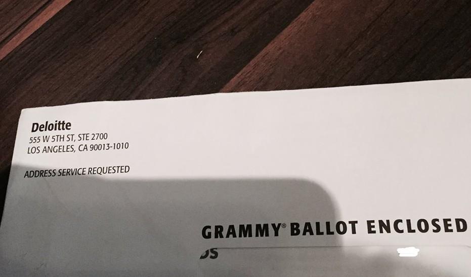 Grammy Ballot