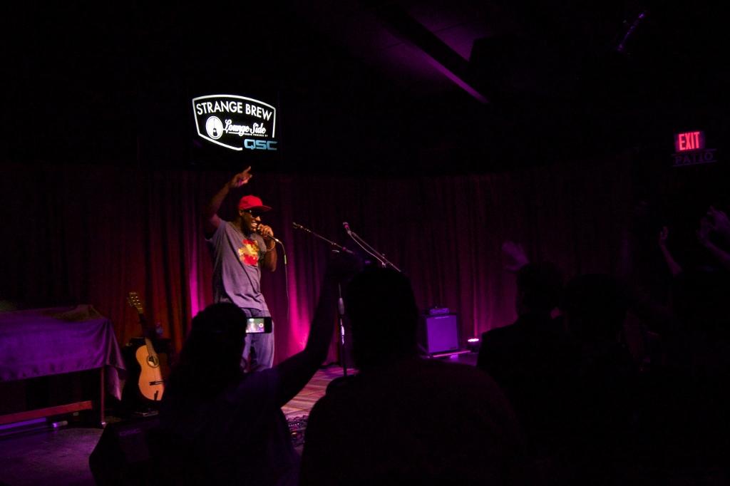 Strangebrew live performance with Saul Paul