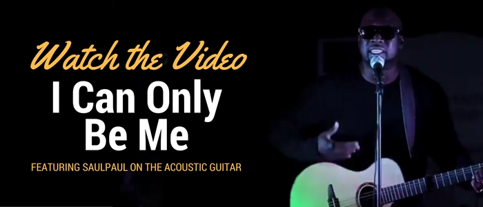 "Watch ""I Can Only Be Me,"" the new music video by SaulPaul available now."