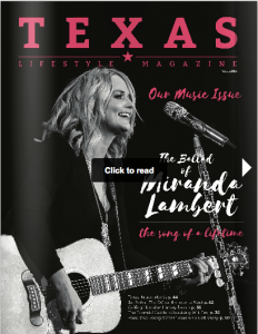 Texas Lifestyle Magazine Music Issue