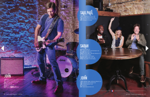 Texas Lifestyle Magazine Music Issue Centerfold