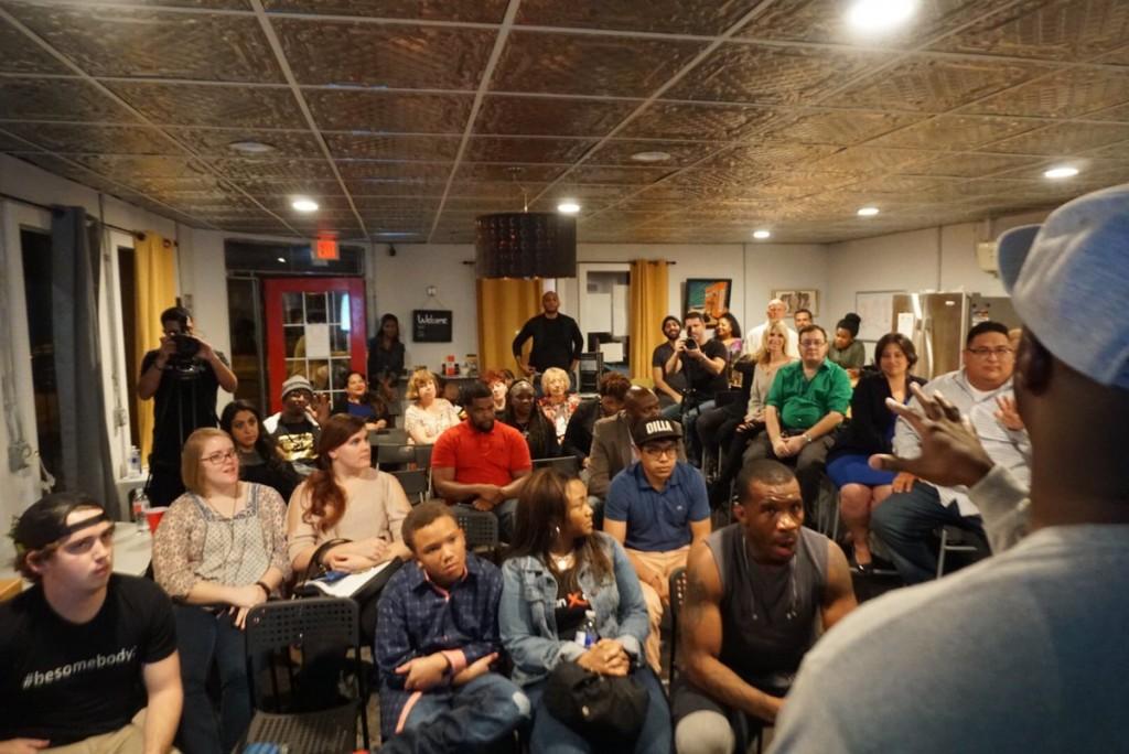 BeSomebody 1eleven Austin Crowd