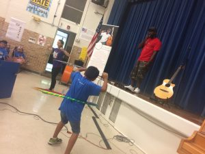 SaulPaul Performing at Prime Time Academy