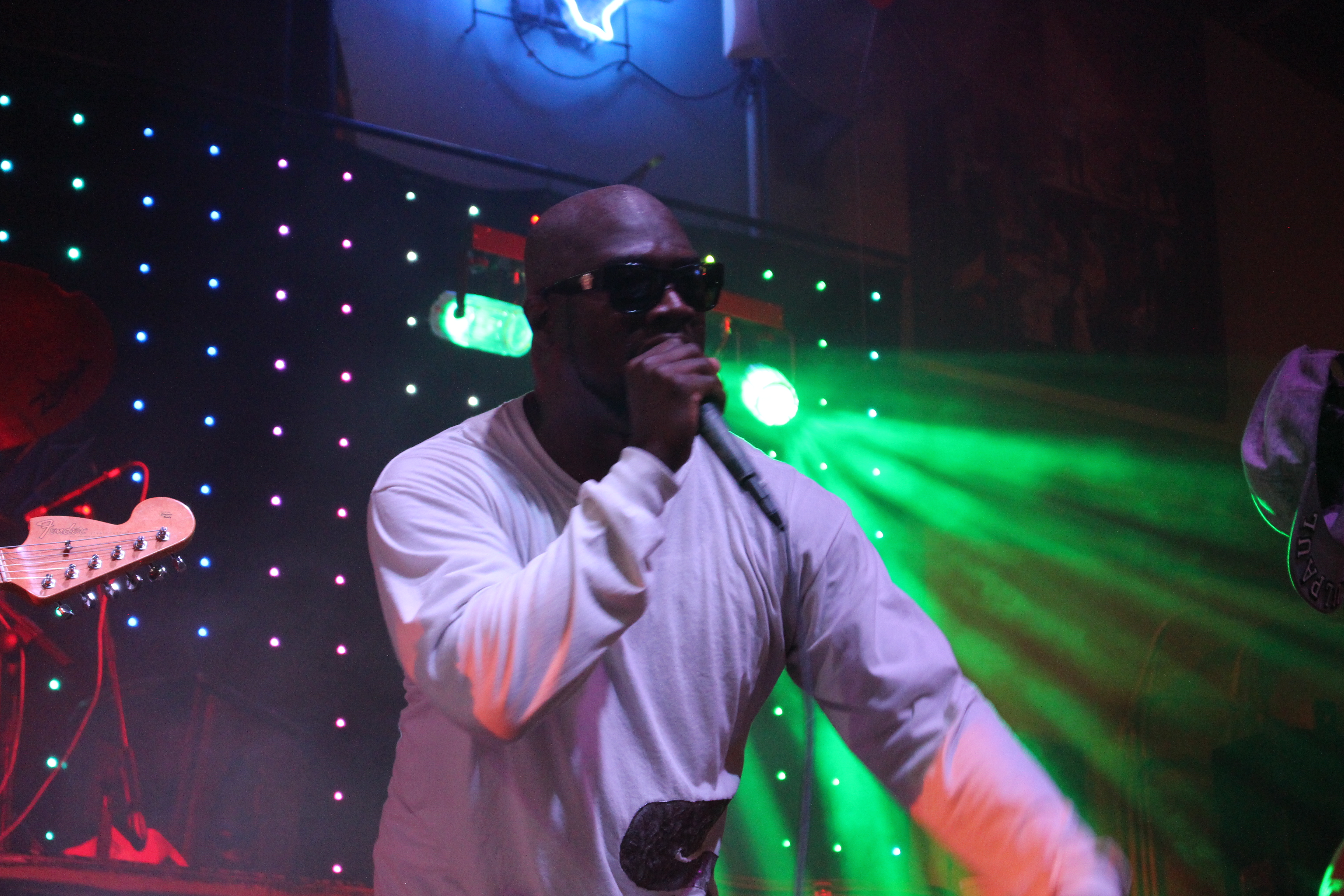 SaulPaul Performs at the Oasis