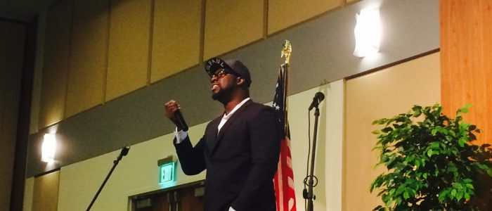SaulPaul at the Biennial School Health Conference