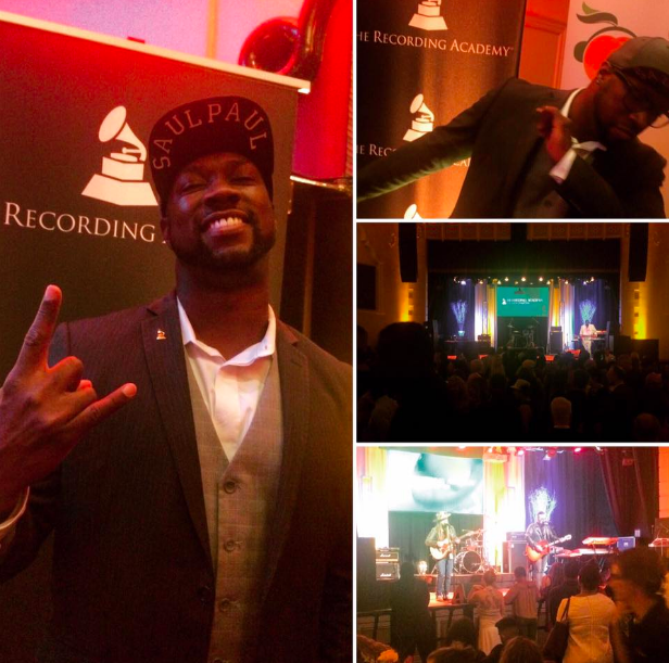SaulPaul and The Recording Academy Party