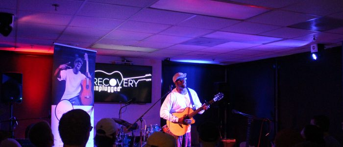 SaulPaul at Recovery Unplugged