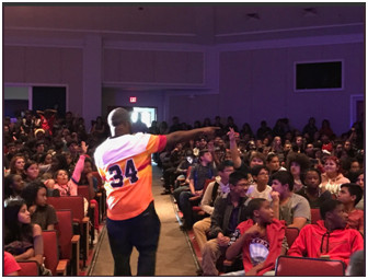 Manor High School Kicks off the School Year with SaulPaul