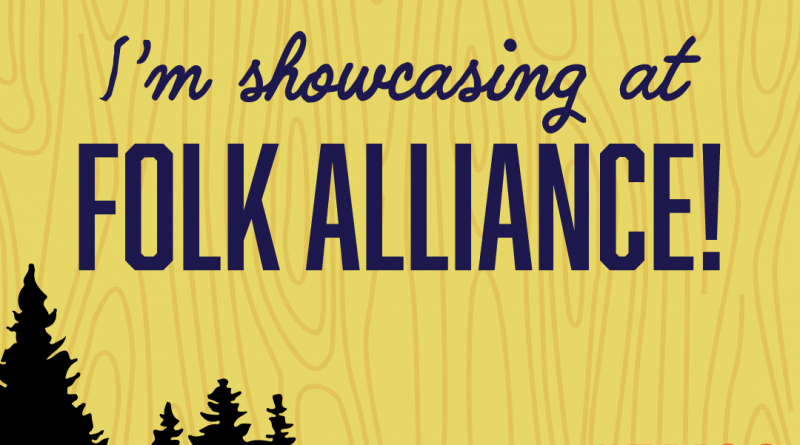 SaulPaul  Selected to Officially Showcase at the Folk Alliance Int'l Conference