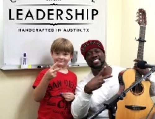 """Six year old Jack """"Master Jack"""" Culbertson interviews Austinite of the Year and 2-Time TEDx musical performer SaulPaul"""