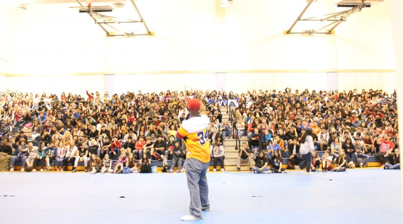 SaulPaul Inspires Students at Cedar Creek Middle School