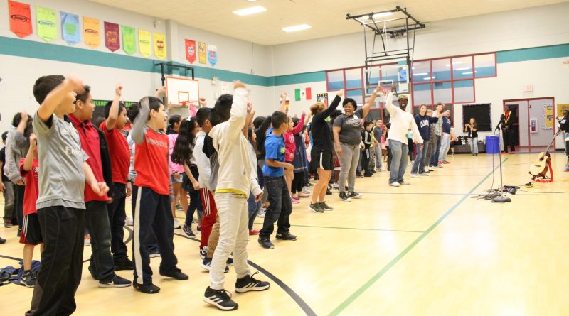 Interactive and Engaging – Live with SaulPaul at Copperfield Elementary
