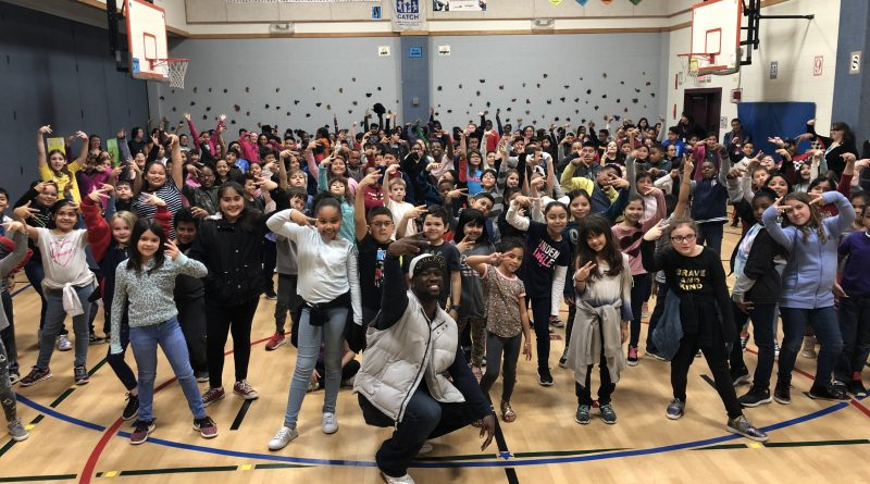 Berkman Arts Integration Academy Welcomes SaulPaul!