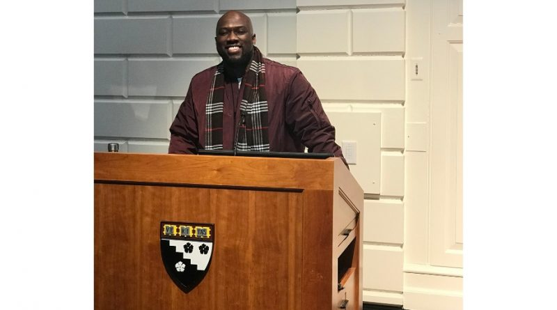 SaulPaul Speaks and Performs at Harvard University