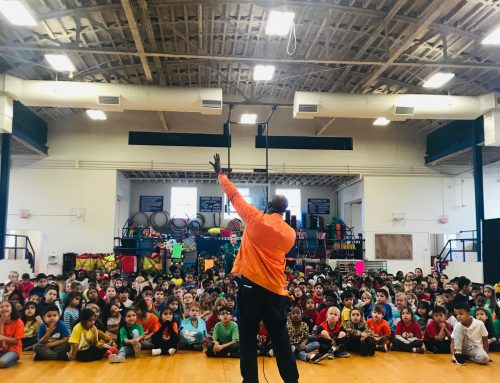 Musician with a Message, SaulPaul, Invited as Teaching Artist at Caldwell Arts Academy