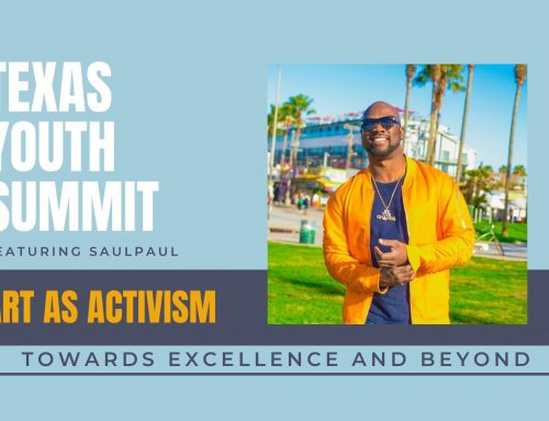 Art and Activism with SaulPaul at the Texas Youth Summit