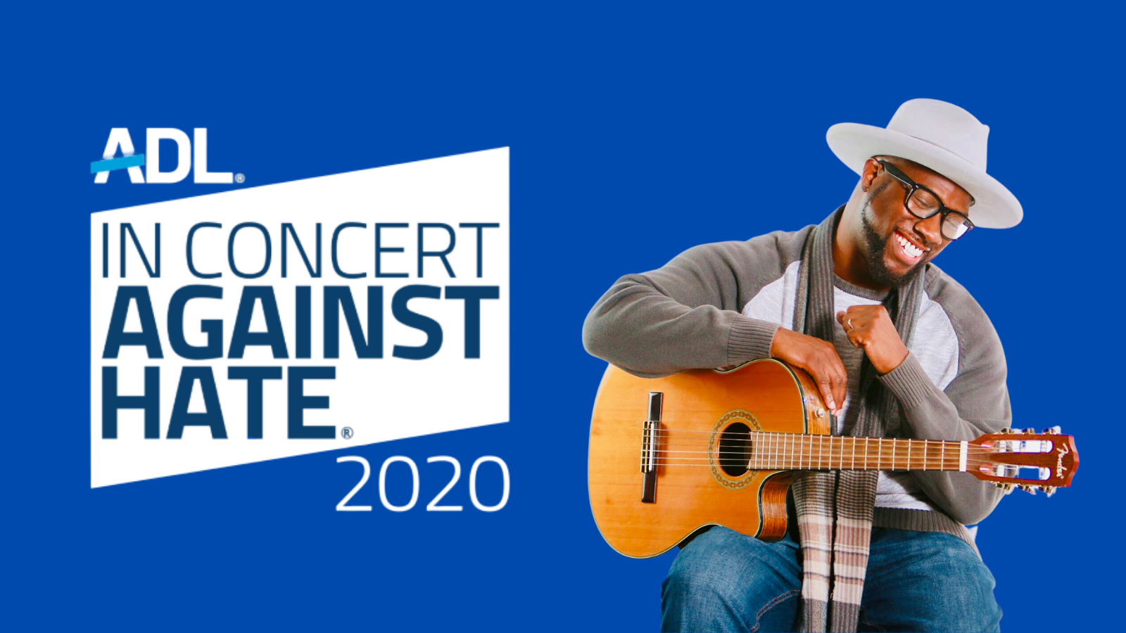 SaulPaul Featured Performer at ADL: Concert Against Hate