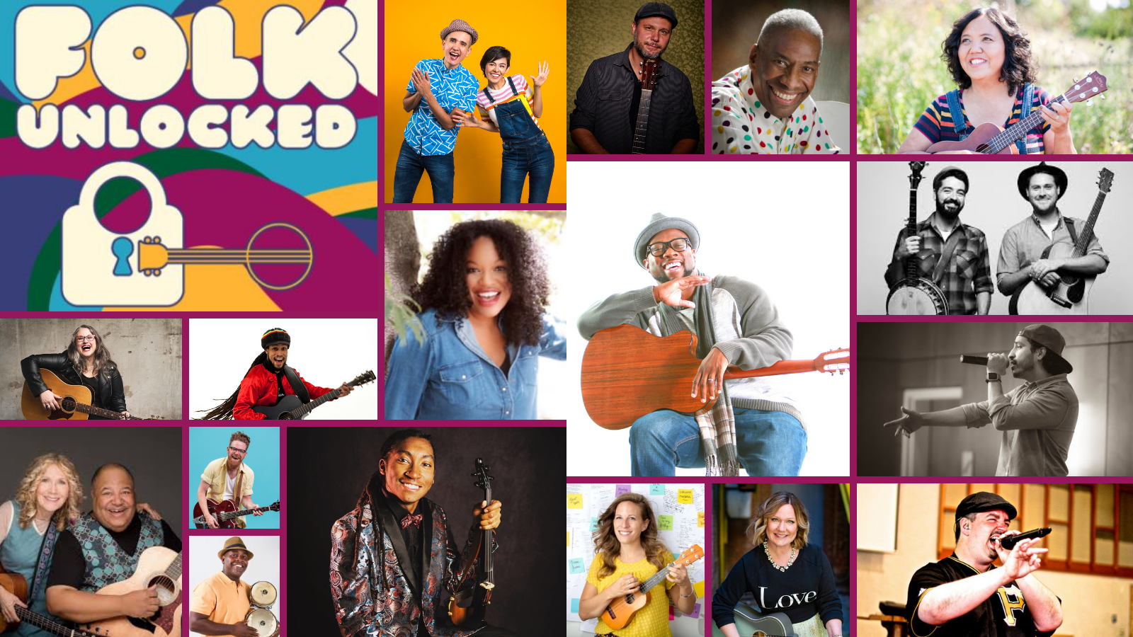 SaulPaul Presents: My Kinda Folk #Changemakers and Champions Showcase at Folk Unlocked