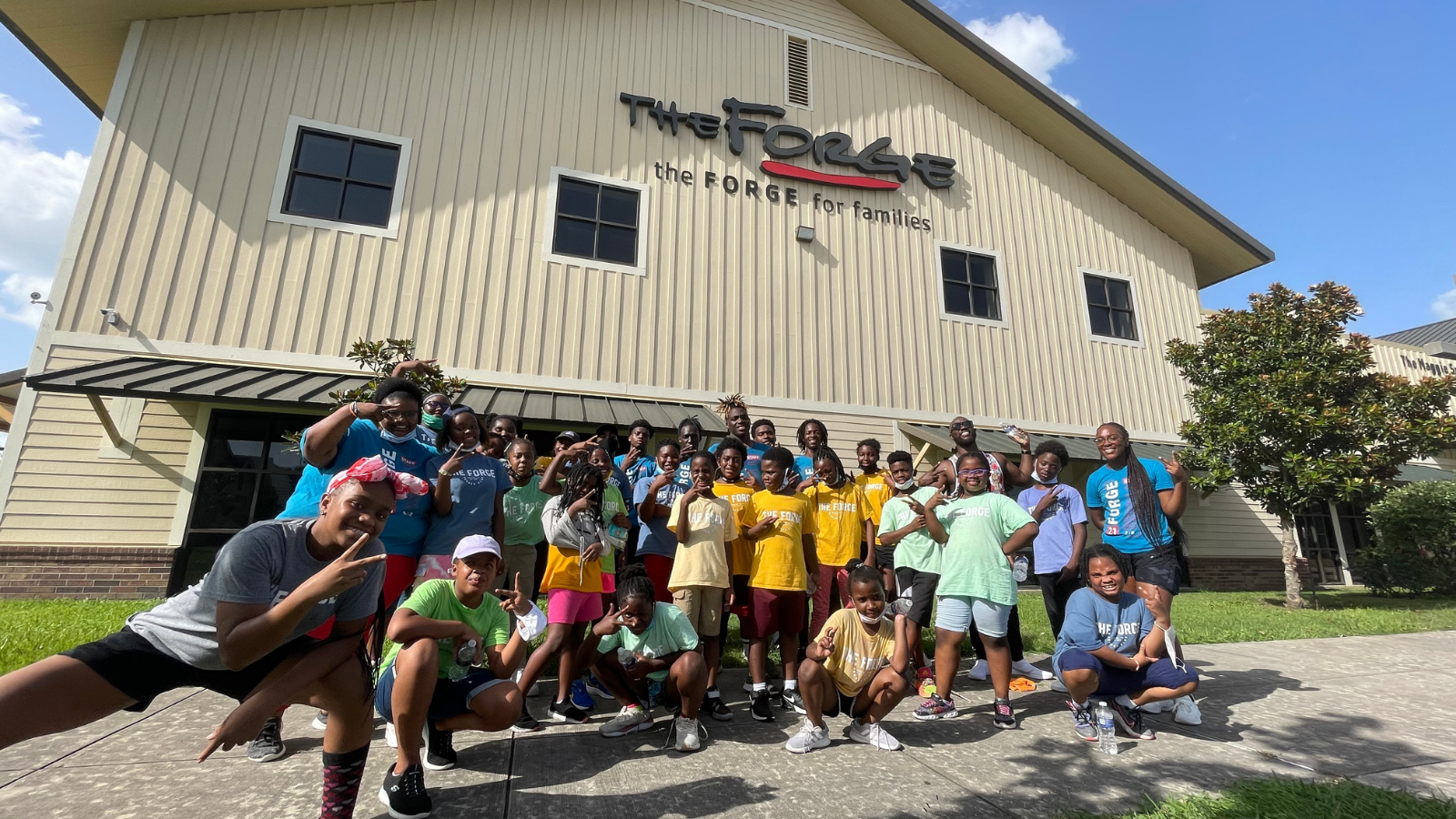 Forge For Families Celebrates Summer with SaulPaul