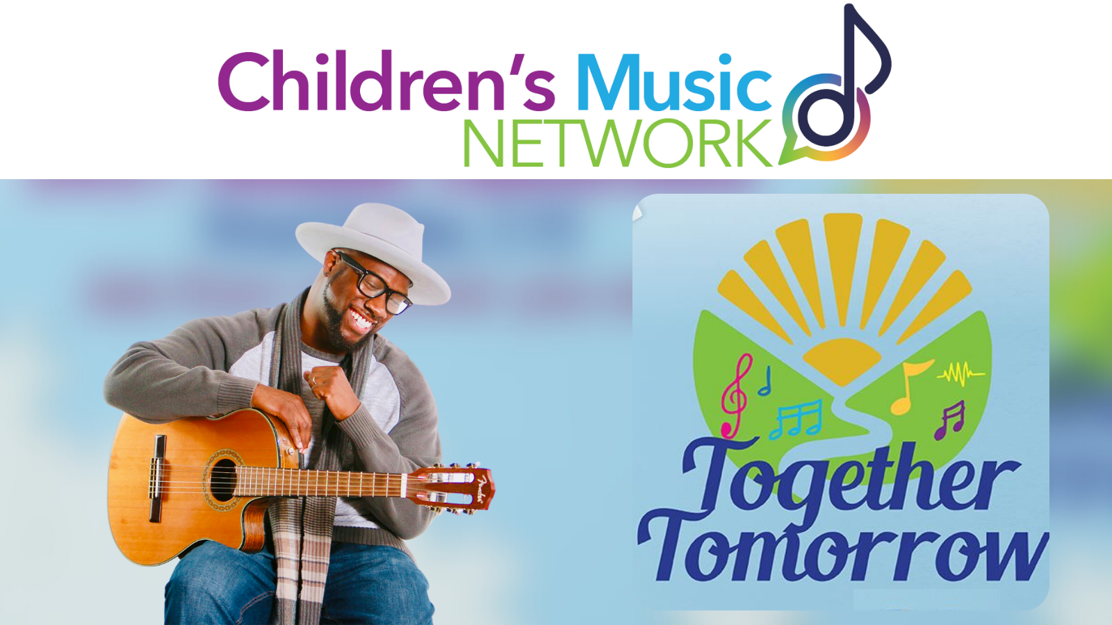 Kicking off the Children's Music Network Conference